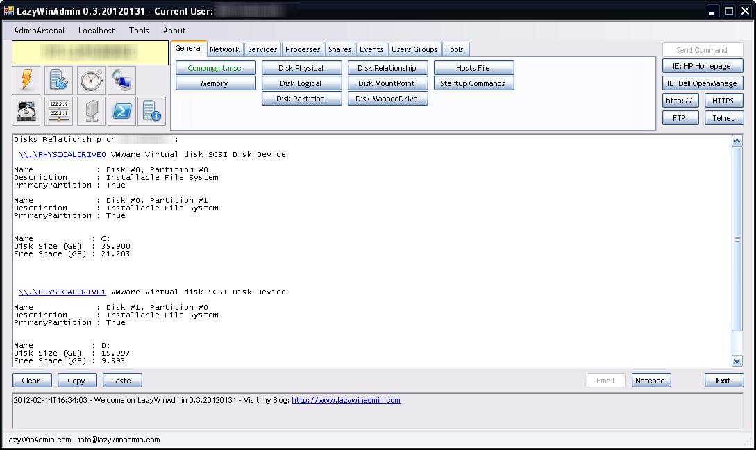 New version - LazyWinAdmin 0 3 20120220 - LazyWinAdmin