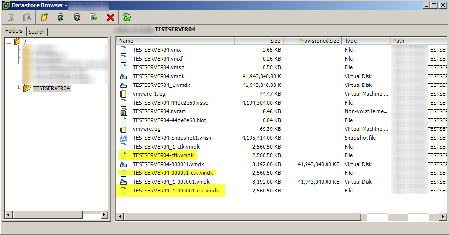 Enabling Change Block Tracking (CBT) on a Virtual Machine