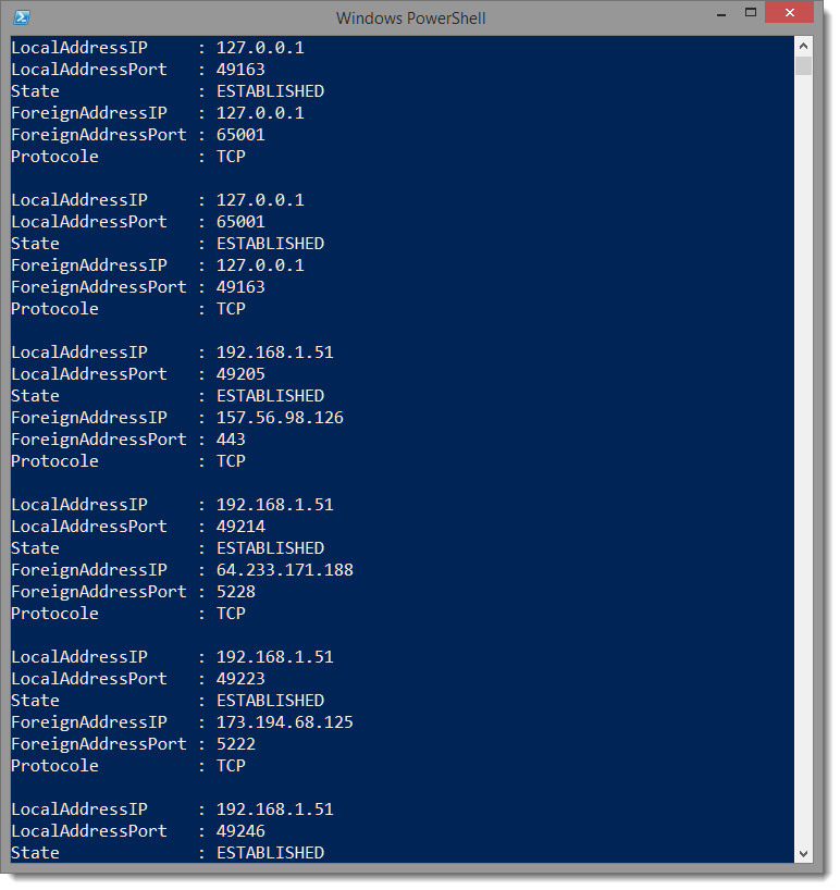 PowerShell - Parse this - NetStat exe - LazyWinAdmin