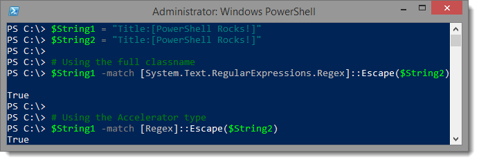 PowerShell Tip - Escape Regex MetaCharacters - LazyWinAdmin
