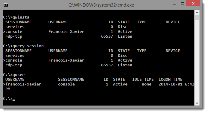 PowerShell GUI - LazyTS (Terminal Services Management) - LazyWinAdmin