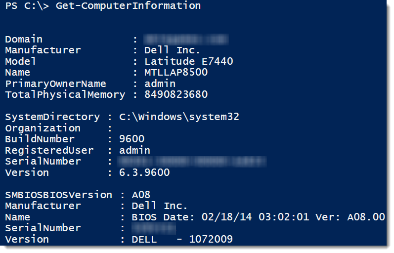 Standard and advanced powershell functions lazywinadmin now we can make our function more versatile by including a parameter that accepts different computer names in the following example im adding the maxwellsz