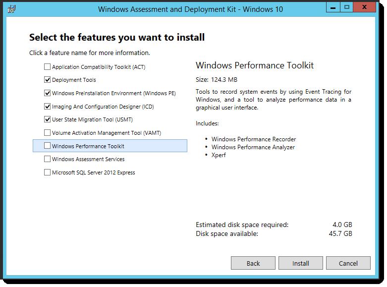 Windows 10 ADK - Issues while uninstalling Windows 8 1 ADK